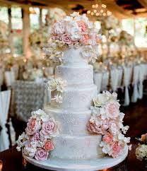 5 Tier Wedding Cake With Beautiful Roses Sri Lanka Online Shopping