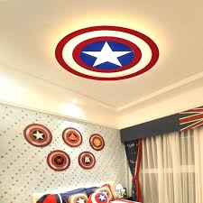 children ceiling lighting fashion modern led ceiling lights captain ceiling lamp for kids room bedroom cartoon