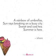 A Rainbow Of Umbrellas S Quotes Writings By Ishara Mitra
