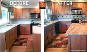 how to update old oak kitchen cabinets golden design ideas refresh wood
