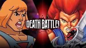 He Man VS Lion O DEATH BATTLE ScrewAttack YouTube