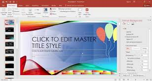 How To Change Slide Background In Powerpoint 2018 Youtube