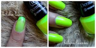 Dermacol 01 Neon Yellow Lak Na Nehty Recenze Blogerkycz