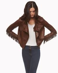 gallery women s fringed leather
