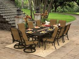 patio ideas outdoor dining table fire pit with furniture set for idea 12
