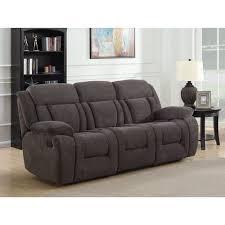 geneva contemporary corduroy reclining sofa charcoal sofas best canada