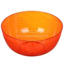 <b>Салатник</b> пластмассовый, 1000 <b>мл</b>, Fresh ИК 124 апельсин Berossi