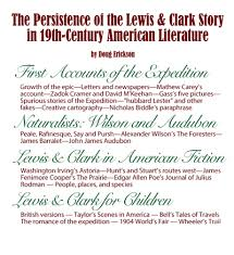 bibliography clark essay expedition lewis literature college  bibliography clark essay expedition lewis literature the literature of the lewis and clark expedition a