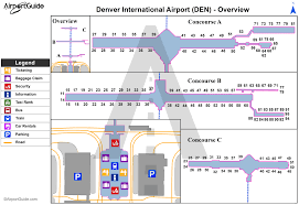 Denver International Airport Kden Den Airport Guide