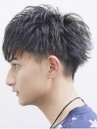 丸顔男子必見童顔に見えない髪型6選 メンズへアスタイル辞典