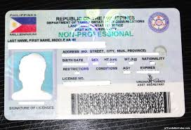 Template License Philippines Fake Drivers Save