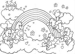 Small Picture Care Bears Coloring Pages coloringsuitecom