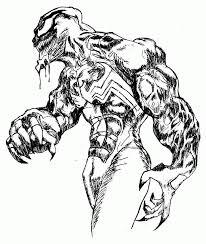 Printable Venom Coloring Pages#342829