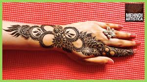 Latest Mehandi Designs For Diwali Easy Mehndi Design For Diwali 2017 Stylish Elegant Designer Mehendi For Hands By Mehndiartistica