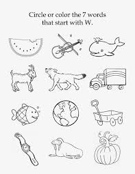 Printable phonics worksheets for kids. Mom S Tot School The Letter W Letter W Worksheets Kindergarten Phonics Worksheets Free Kindergarten Worksheets