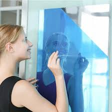 50 100cm large mirror wall stickers
