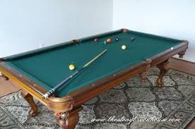 kitchen room pull table: pool table is in pooltablefinished pool table is in
