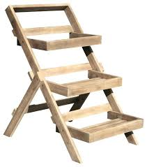 3 tiered wooden garden planter 3 tier wooden plant stand hardwood 3 tier garden planter 3 tiered wooden