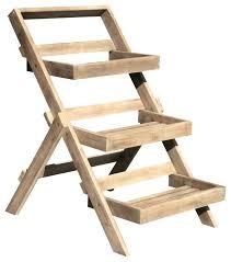 3 tiered wooden garden planter 3 tier wooden plant stand hardwood 3 tier garden planter 3 tiered wooden