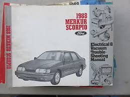 ford merkur scorpio electrical wiring diagrams service manual 1988 ford merkur scorpio electrical wiring diagrams service manual oem factory