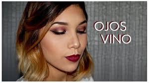 vino dorado tutorial de maquillaje burgundy gold makeup tutorial glam by val