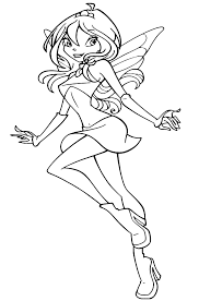 Disegni Di Winx Club Da Colorare