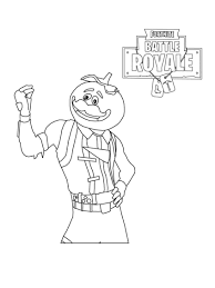 Coloring Page Fortnite Colouring Sheets Colorings Battle Royale