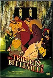 Triplets Of Belleville Amazon Com The Triplets Of Belleville Sylvain Chomet Didier
