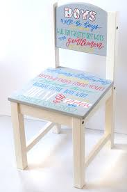 personalized toddler timeout chair little boy chair