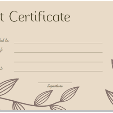 31 Free Gift Certificate Templates 326510716128 Free Printable