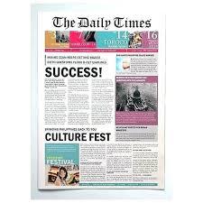 Microsoft Newspaper Article Template Magazine Article Template