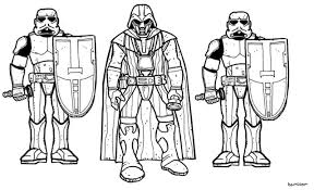 Small Picture Star wars soundboard coloring pages Star Wars clone Star Wars