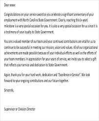 7 Sample Thank You Letter To Employees Sample Templates