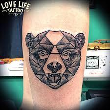 значение тату медведь фотографии татуировки медведь каталог тату