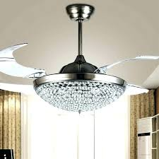 ceiling fan with chandelier attached ceiling fan with crystals furniture chandelier with ceiling fan attached elegant room com from