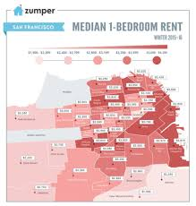 average cost of a two bedroom apartment. Average Cost Of 2 Bedroom Apartment In San Francisco #4 SanFrancisco_MonthlyPriceMedianMap_Winter2016 A Two