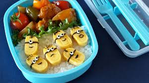 Bento Box Decorations Bento Box Recipes Despicable Me Minions Bento Box Recipe 19