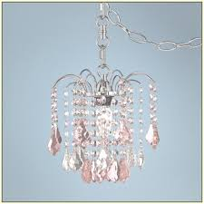 4 light mini crystal beaded plug in chandelier gold swag sty view 2 of 45