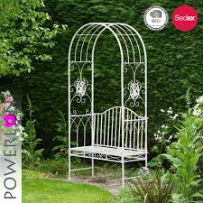 china outdoor wrought iron garden arch with bench china iron chair garden bench