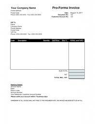 Free Download Invoices Proforma Invoice Template Download Free Invoice Template Ideas 3