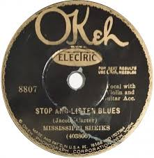 Image result for stop and listen blues