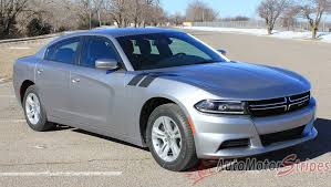 2015-2018 Dodge Charger Double Bar 15 Hood Hash Marks Stripe ...