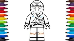 How To Draw Lego Ninjago Jay Walker From The Lego Ninjago Movie