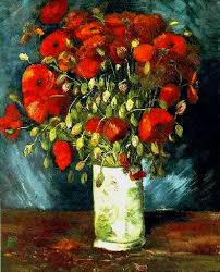 fake poppies by van gogh poppies an oil painting by vincent