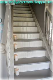 Im So Excited To Share The Updates We Made To Our Stairs They - Painted basement stairs