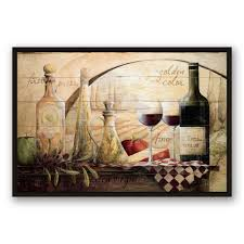 tuscan vineyard wine  on tuscan vineyard wall art with designs direct 24 in x 36 in tuscan vineyard wine printed