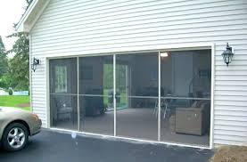 remarkable fresh patio door screens and sliding garage door screens palm coast sliding screen door guard