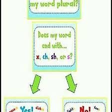 The Original Version Of The Singular Nouns And Plural Nouns