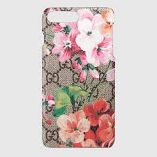 gucci iphone 7 plus case. gg blooms iphone 7 plus case gucci iphone g