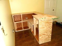 interior surprising home built bar plans 0 build your own l shaped free construction small